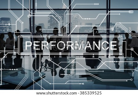 Performance Skill Experience Accomplishment Concept - stock photo