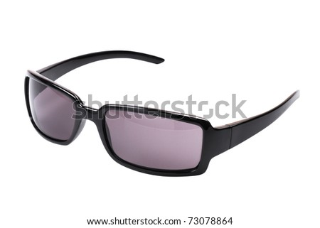 performance sunglasses,  isolated on white background
