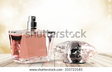 Perfume. - stock photo