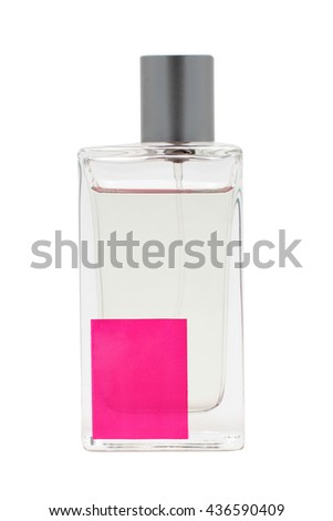 perfume bottle isolate