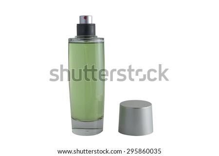 perfume bottles - stock photo