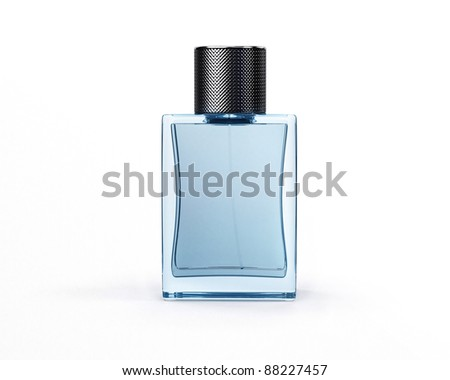 Perfume in elegant container - stock photo