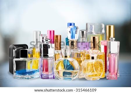 Perfume Sprayers. - stock photo