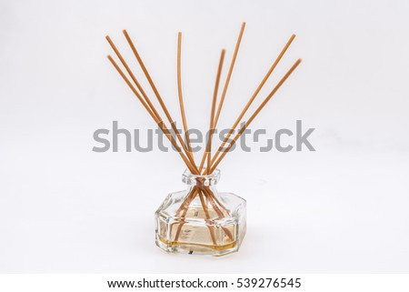 perfumer with wood sticks