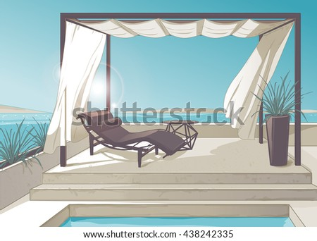 Pergola Stock Images Royalty Free Images Vectors Shutterstock