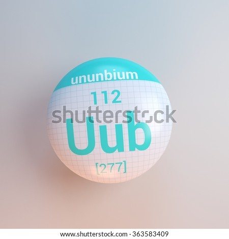 Uub stock images royalty free images vectors shutterstock periodic table of elements ununbium urtaz Images