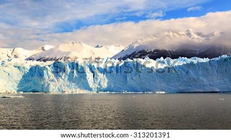 Perito Moreno - El Calafate - Argentina - South America - stock photo