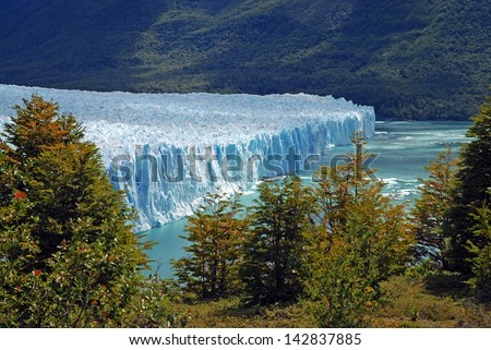 Perito Moreno Glacier, Argentina - stock photo