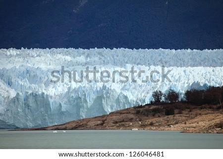 Perito Moreno Glacier Patagonia - stock photo
