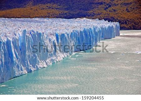 Perito Moreno Glacier, Patagonia Argentina - stock photo