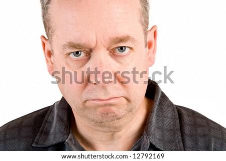Perplexed and Skeptical Attitude - stock photo