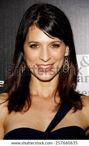 Perrey Reeves at the Los Angeles Gay & Lesbian Center Honors Rachel Zoe held at the Sunset Tower Hotel, California, United States on January 23, 2012.  - stock photo