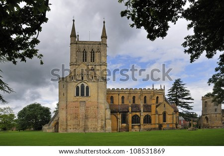 Pershore Abbey & St. Andrews Church, Pershore, Worcestershire