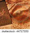 persian carpet - stock photo