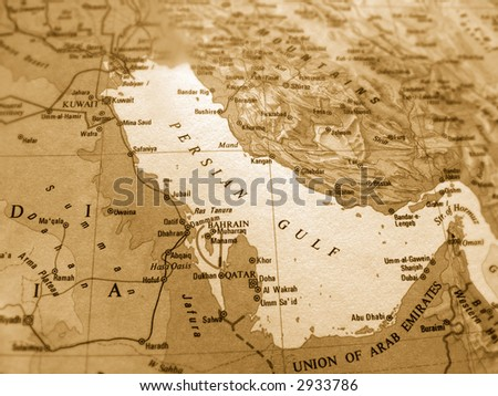 Persian Gulf - stock photo