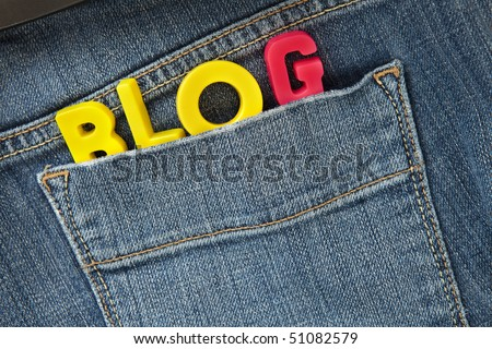 personal blog concept - stock photo