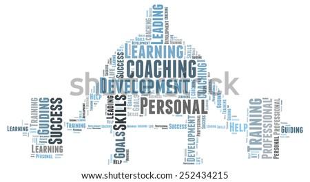 Personal coaching - stock photo