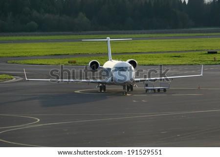 Personal jet - stock photo
