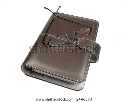 Personal Planner Organizer - stock photo