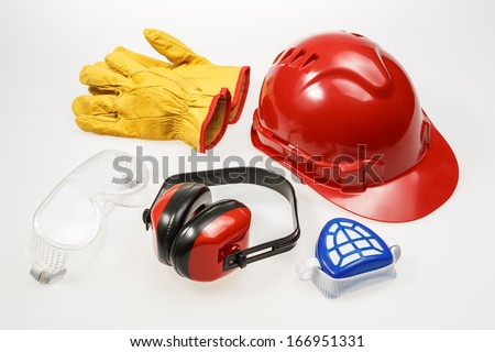 Personal Protective Equipment - stock photo