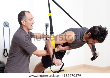 Personal trainer - stock photo