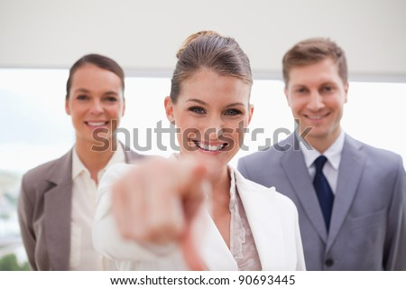 Personnel recruitment team looking for new employees - stock photo