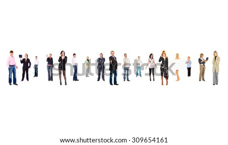 Perspective Concept People Order  - stock photo
