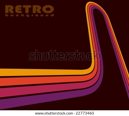 Perspective lines - stock photo