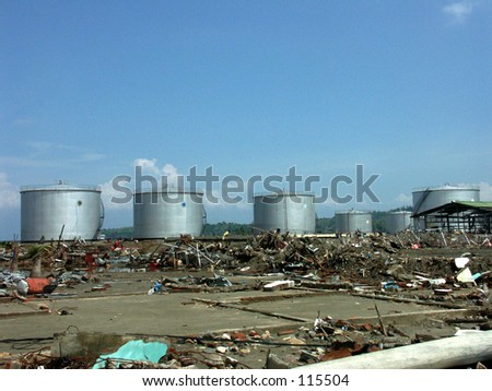 Pertamina (oil company) after Tsunami in Aceh Indonesia
