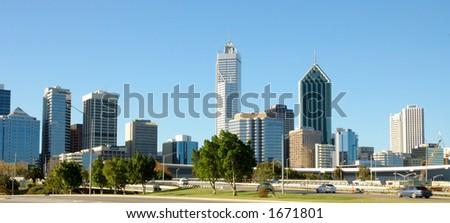 Perth City - stock photo