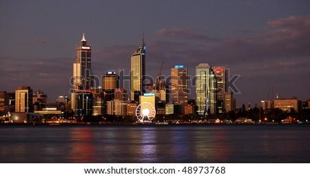 Perth, Western Australia - stock photo