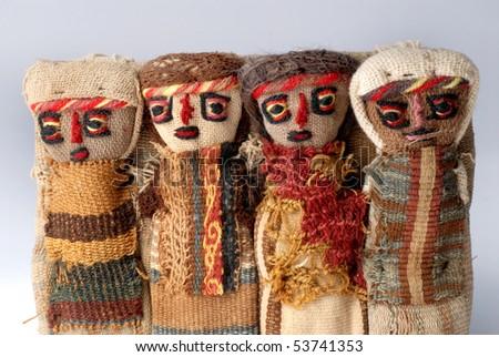 Peruvian handicrafts - stock photo