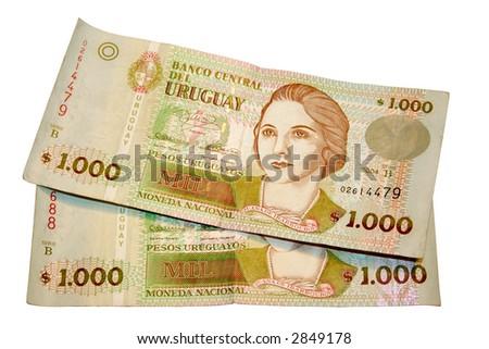 Peso - Uruguay - stock photo