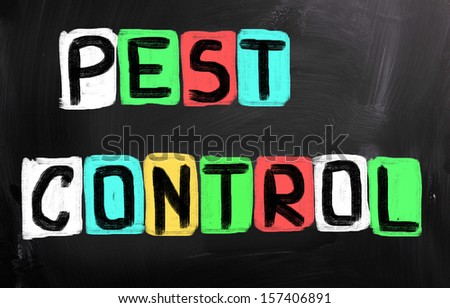 Pest Control Concept - stock photo