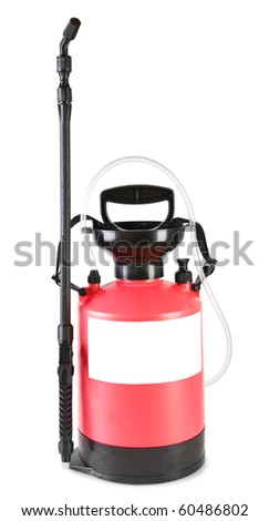 Pesticide Sprayer - stock photo