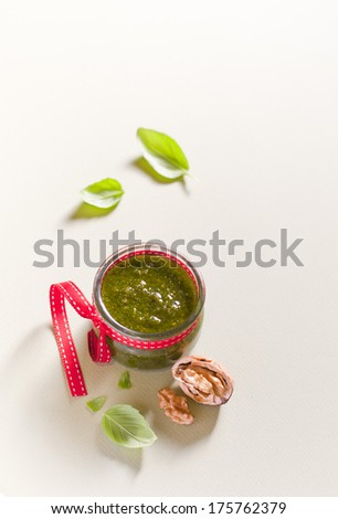 Pesto - stock photo