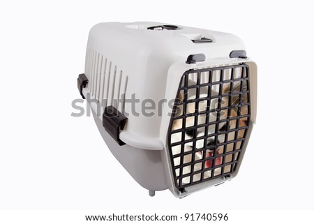 Pet Carrier - stock photo