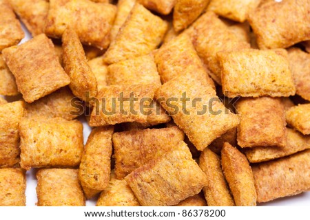 Pet food background - stock photo