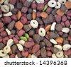 Pet food close up. - stock photo