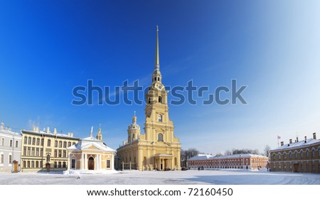 Peter and Paul Cathedral - stock photo