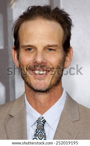 "Peter Berg at the Los Angeles premiere of ""Battleship"" held at the Nokia Theatre L.A. Live in Los Angeles, California, United States on May 10, 2012."