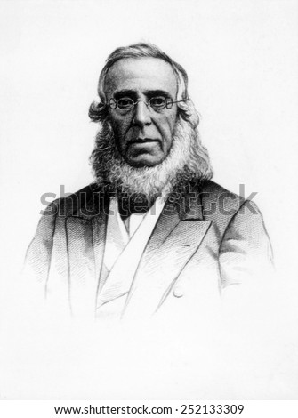 Peter Cooper (1791-1883) - stock photo
