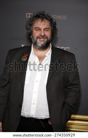 Peter Jackson at the Los Angeles premiere of 'The Hobbit: The Battle Of The Five Armies' held at the Dolby Theatre in Hollywood on December 9, 2014.