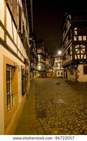 Petite France, Strasbourg, Alsace, France - stock photo
