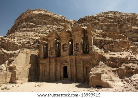 Petra, Jordan - stock photo