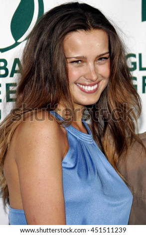 Petra Nemcova at the Global Green USA Pre-Oscar Celebration to Benefit Global Warming held at the Avalon in Hollywood, USA on February 21, 2007. - stock photo