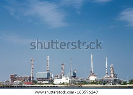 Petrochemical high technology oil industry.