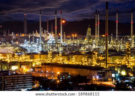 Petrochemicals are chemical products derived from petroleum. Some chemical compounds made from petroleum are also obtained from other fossil fuels - stock photo