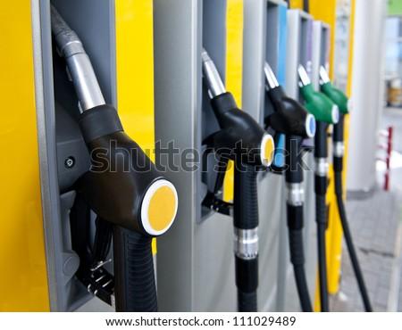 petrol - stock photo