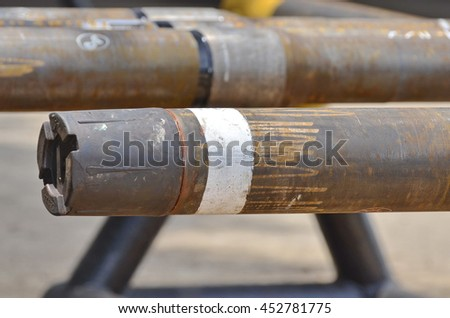Petroleum equipment after use Wait repair process